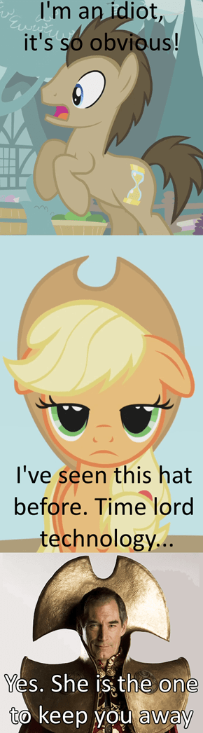Applejack Is a Time Lord