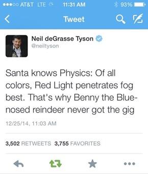 Santa Knows Physics