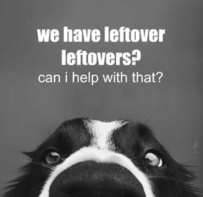 we have leftover leftovers?