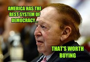 Sheldon Adelson...