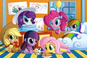 Ponyville Babies Harness The Power of Make Believe