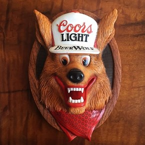 Coors Light Has a Beer Wolf?