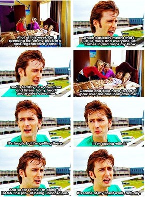 David Tennant's First Day on The Job