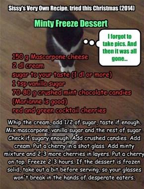 Minty Freeze Dessert