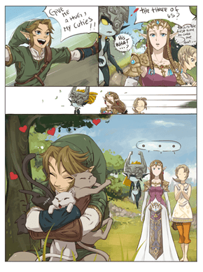 Legend of Hug, Link's dearest