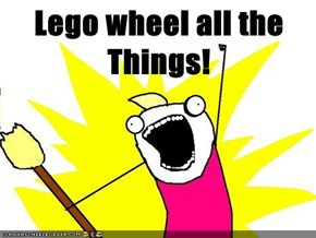 Lego wheel all the Things!