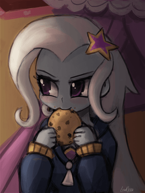 Here Trixie, have a cookie
