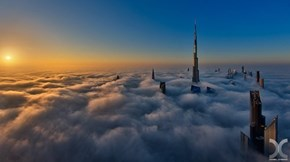 Getting Above the Clouds in Dubai