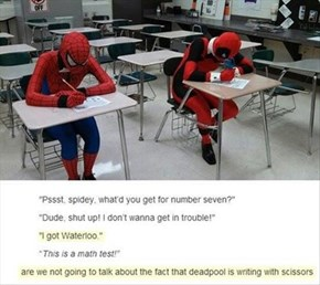 Superheroes Do Not Make Great Students