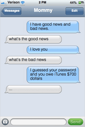 What Would Your Toddler Text You?