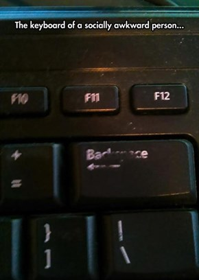 Does Your Work Keyboard Look Like This?