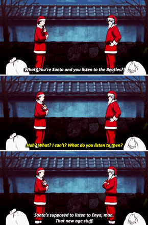 Santa's Into That Old Time Rock and Roll