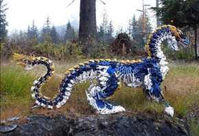 Forget All Those Technical LEGO Sets, They're Way Better as a Giant Dragon