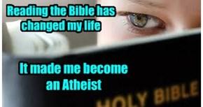 Atheist...