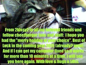 From 2kissy2. Could y'all fave this or otherwise pass it along? Thanks, I don't want anyone to feel left out. Hugs & purrs.