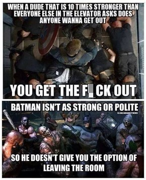 The Difference Between Captain America and Batman