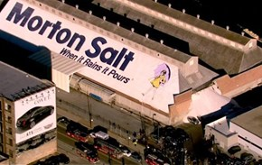 Photo of the Day: Salt Spill at Chicago Storage Facility Was Fate
