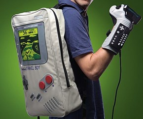 The Power of The 80's Strapped to Your Back