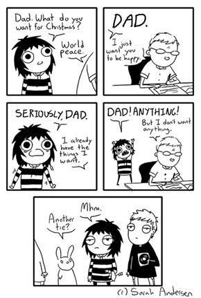 And That's Why Dad Has Twenty Ties