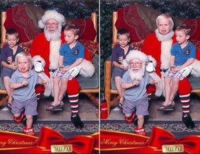 The Only Way to Make Kids MORE Terrified of Santa