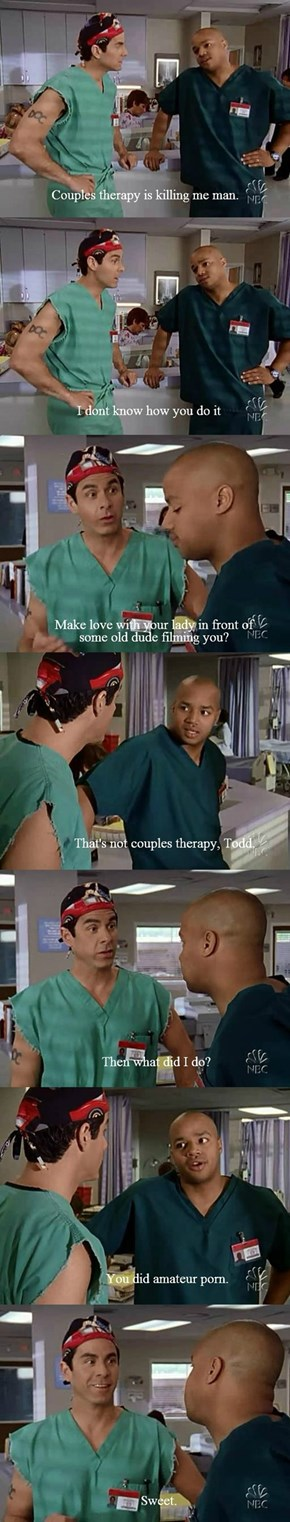 Couples Counseling Is Racy!