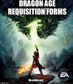 A More Appropriate Title for Dragon Age: Inquisition
