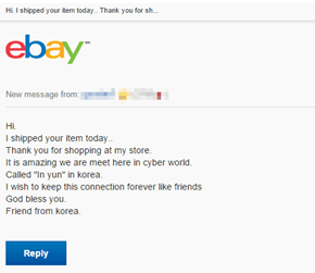 Overly Attached eBay Seller