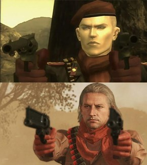Revolver Ocelot Then Vs. Now