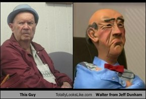 This Guy Totally Looks Like Walter from Jeff Dunham