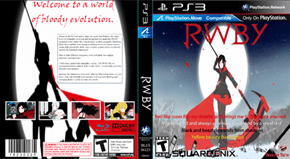 RWBY PS3 Game Cover
