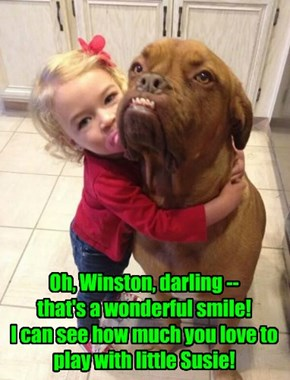 Misinterpretation of canine features happens to everyone occasionally