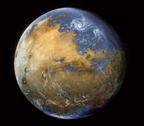 Is This What Mars Used to Look Like?