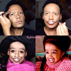 Nightmare Fuel of the Day: Makeup Artist Transforms Into 'American Horror Story' Characters
