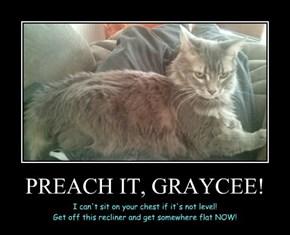 PREACH IT, GRAYCEE!
