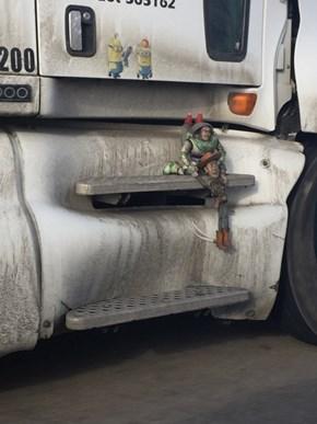 Hang on, Woody!