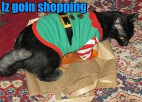 Iz goin shopping