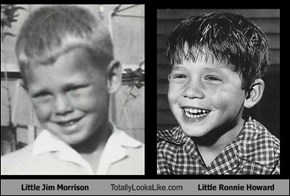 Little Jim Morrison Totally Looks Like Little Ronnie Howard