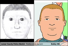 Lamar County Police Sketch Totally Looks Like Bobby Hill