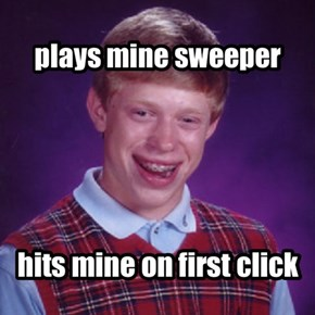 plays mine sweeper
