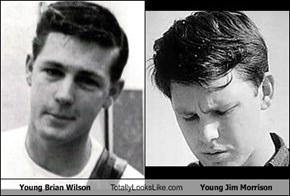 Young Brian Wilson Totally Looks Like Young Jim Morrison