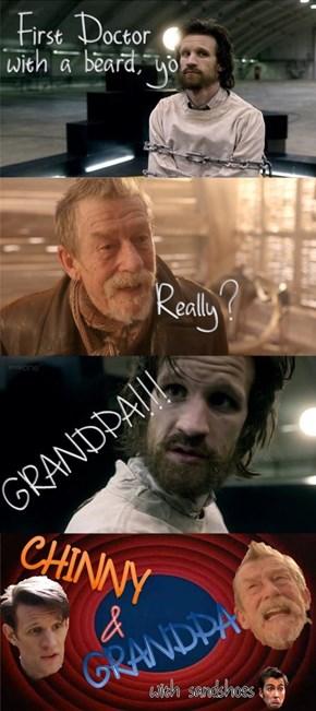 Chinny and Grandpa
