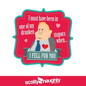 Rob Ford Valentine's Day Cards!