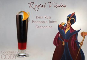 Cocktails For Your Favorite Disney Characters