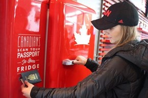 WHAT? Canada's Olympic Team Has Their Own Private Beer Fridge?