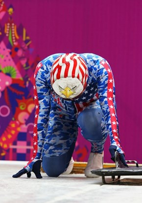 American Bobsledder Katie Uhlaender Has the Greatest Uniform in the History of Ever