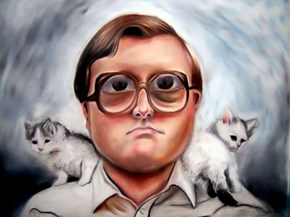 Epic drawing of bubbles by Angela Fox