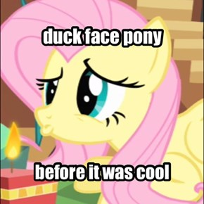 duck face pony