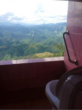 Perhaps the Greatest Bathroom in Existence