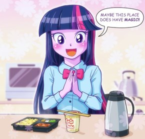 If the human world of Equestria girls was in (and based off) Japan...
