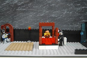 Classic Literary Scenes in LEGO